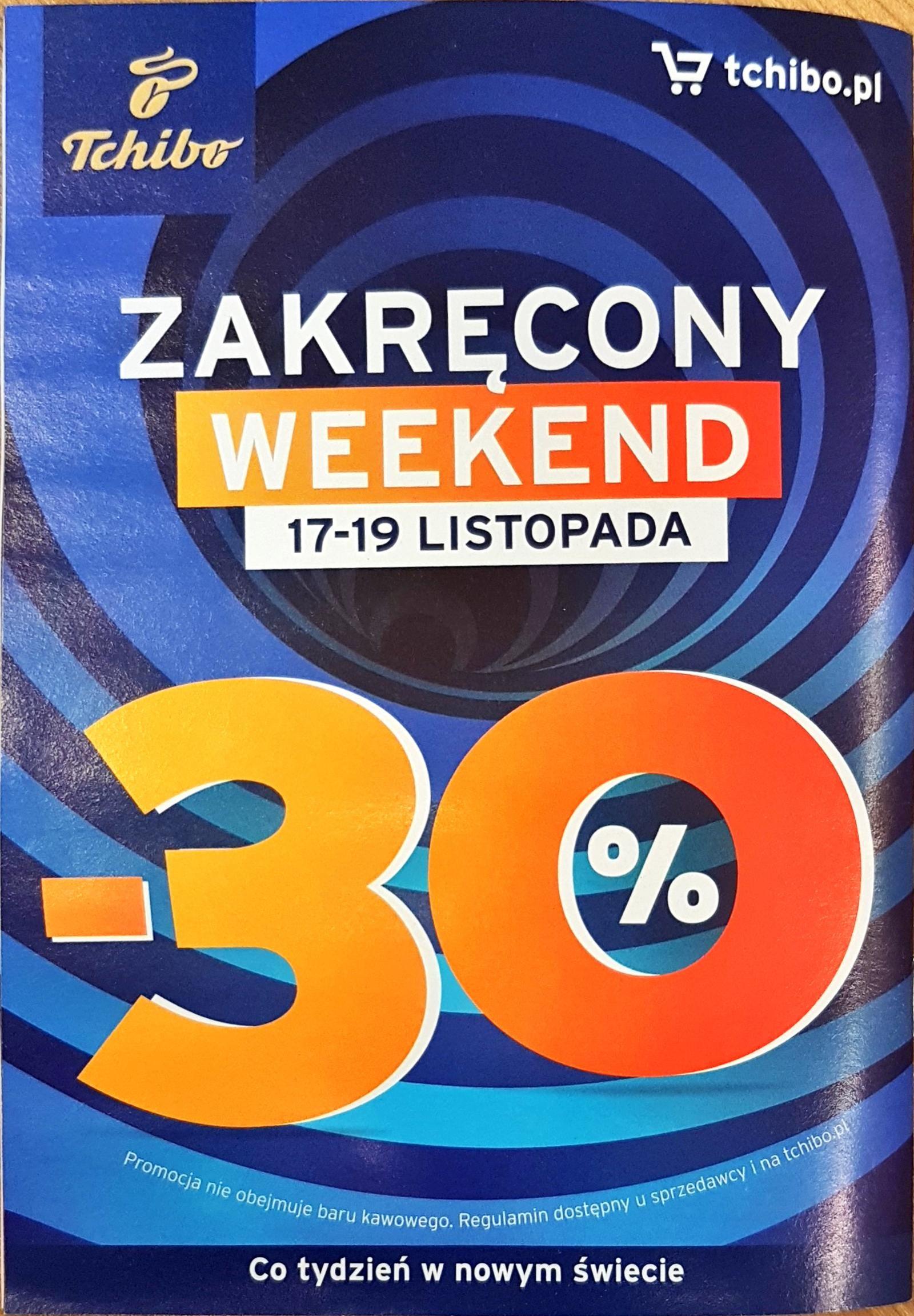 Weekendowa promocja 17-19.11 w Tchibo