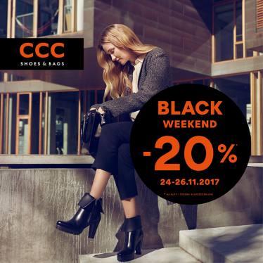 [Black Friday] 20% rabatu na buty i torebki @ CCC