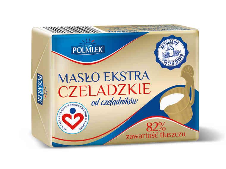 Masło Polmlek ekstra czeladzkie (cena za 1szt. przy zakupie 6szt.)