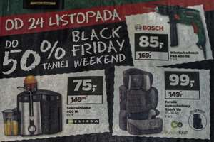Netto: Black Friday. Wiertarka Bosh Psb 450RE -50% - 85zl. 24-26.11.2017.
