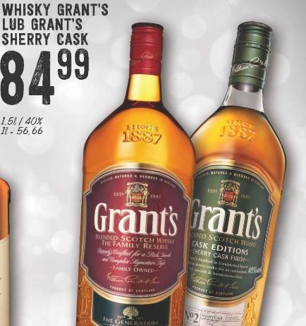 Grant's Sherry Cask 1,5L Polomarket