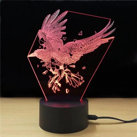 Lampka USB 3D za 9.8$ zamiast 17$ / Rosegal