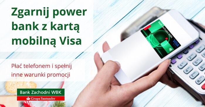 Powerbank za płatności mobilną kartą Visa@BZ WBK