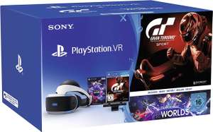 Playstation VR Bundle (Gran Tourismo,VR World,Kamerka)