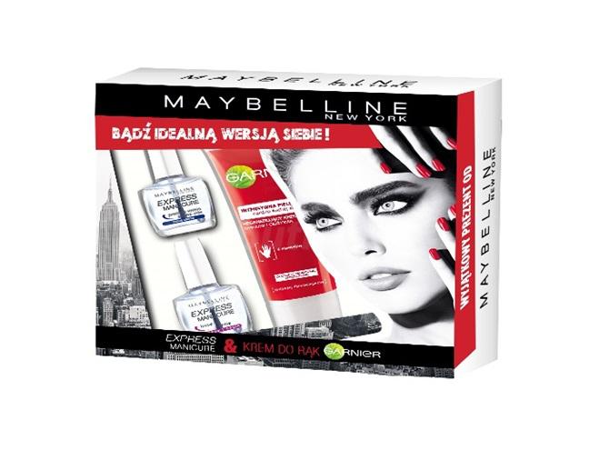 Maybelline Express Manicure - zestaw kosmetyków