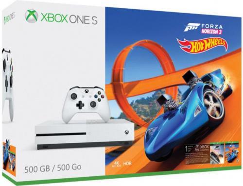 Xbox One S 500 GB + Forza Horizon 3 + Hot Wheels DLC za 999 zł w morele.net