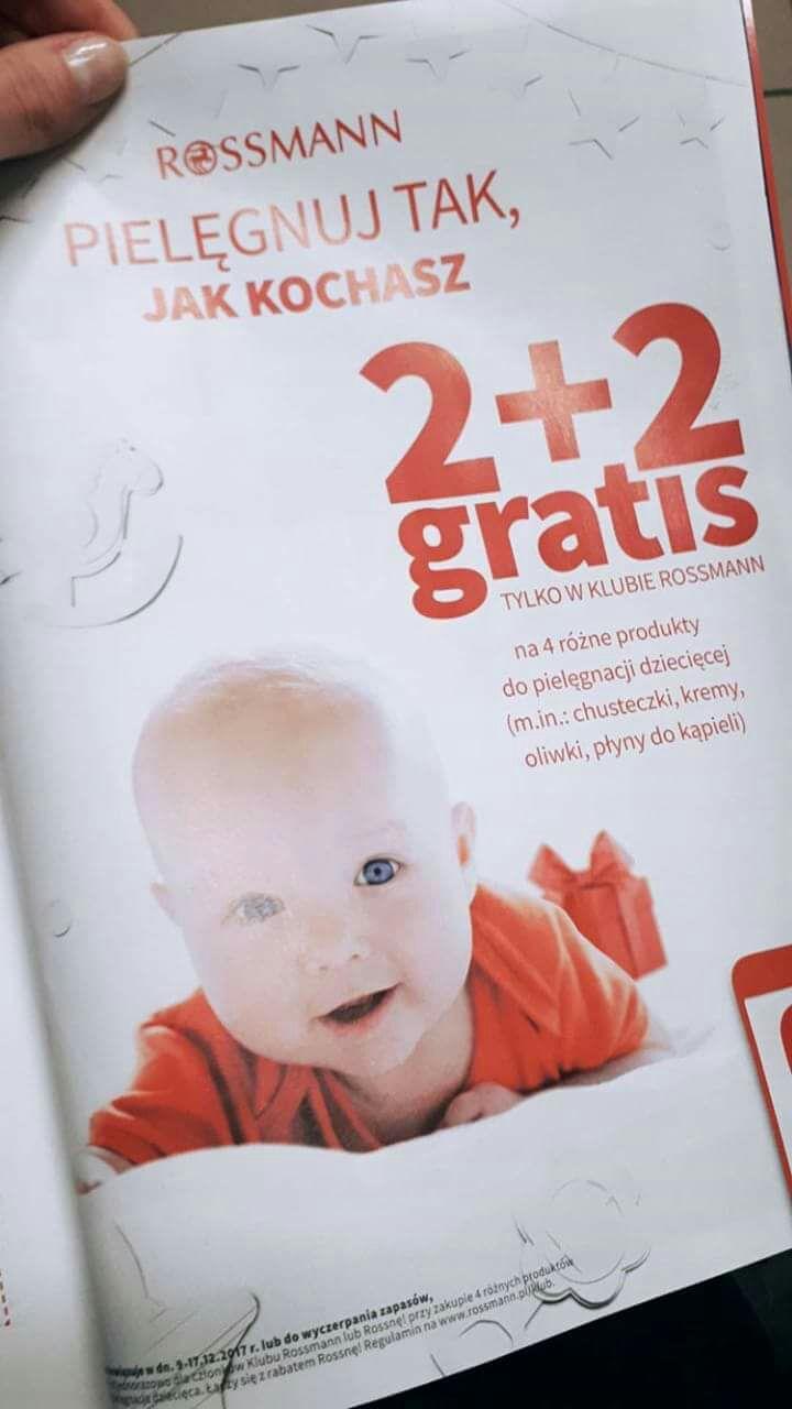 Rossmann Klub promocja 2+2 artykuły dziecięce