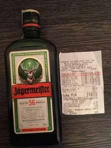 Jagermeister 0,5L w Biedronce