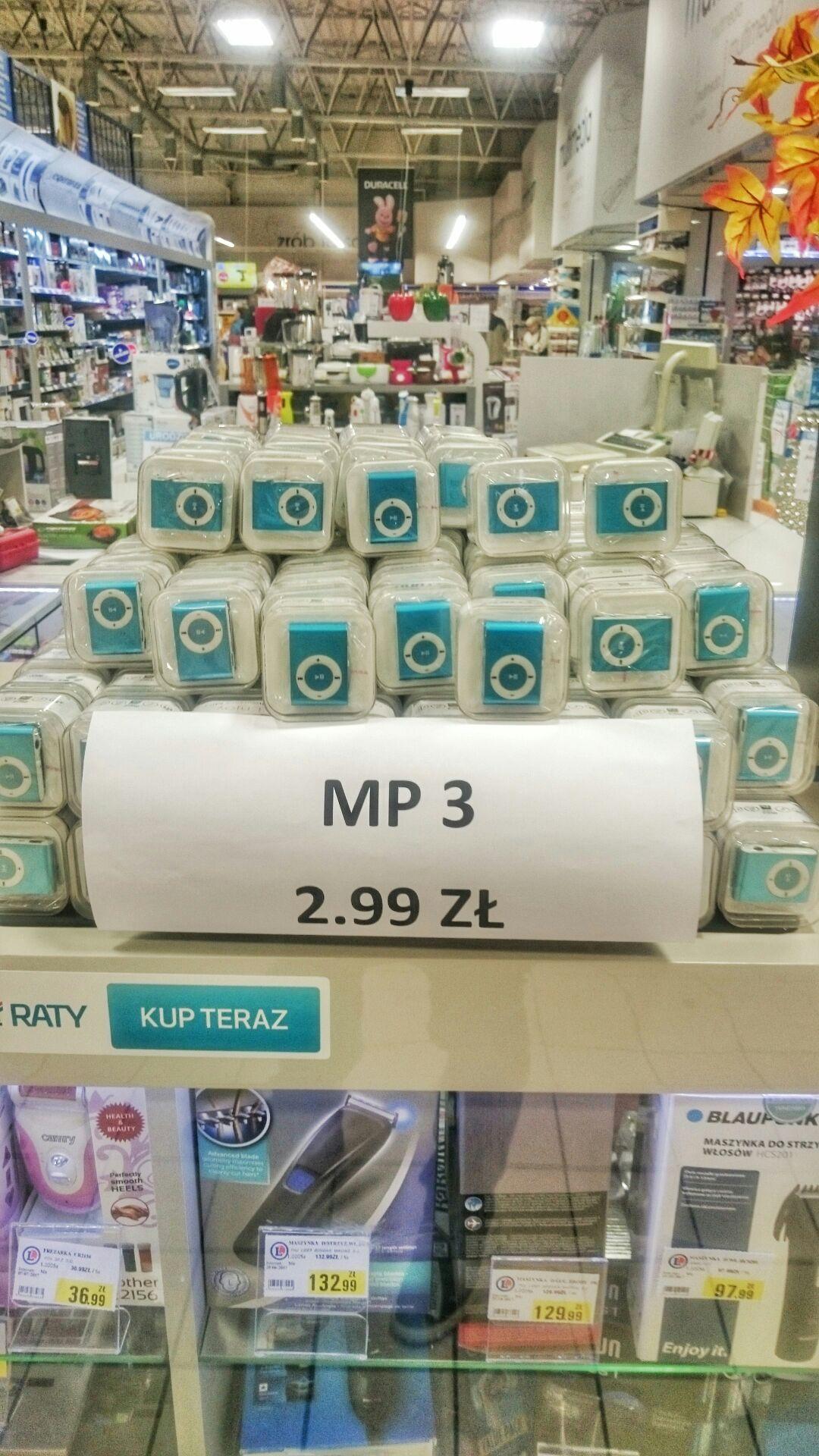 Odtwarzacz MP3 @ E.Leclerc Wrocław