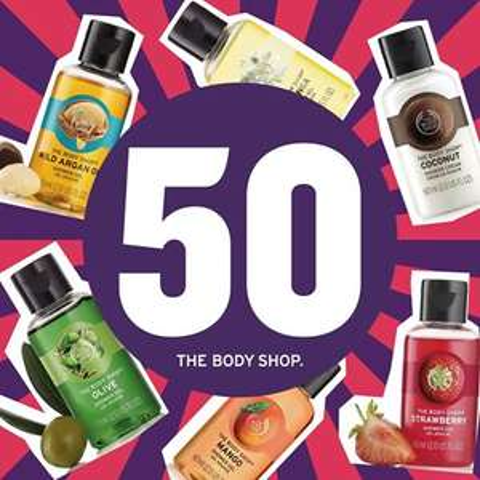Mini żel za 1zł dla pierwszych 50 osób z legitymacją studencką @ The Body Shop