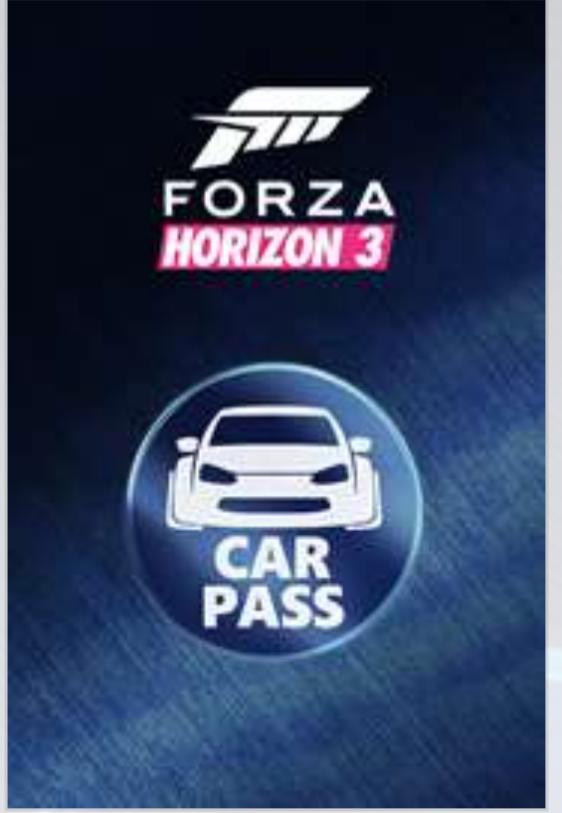 Forza Horizon 3 Przepustka Samochodowa