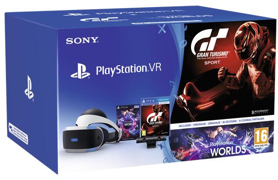 Sony Playstation VR + PS Camera + VR Worlds + GT Sport @ Scentre