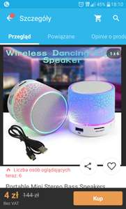 Wireless speaker wish