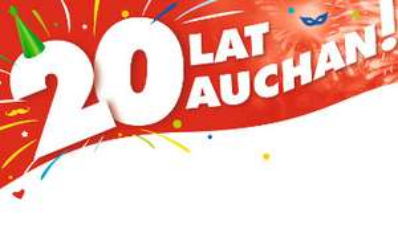 Bon 20 zł za zatankowanie za 150 zł na stacji @Auchan Modlińska