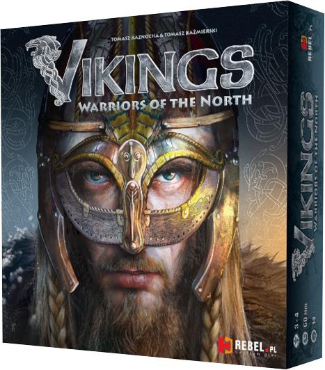 Gra planszowa Vikings: Warriors of the North