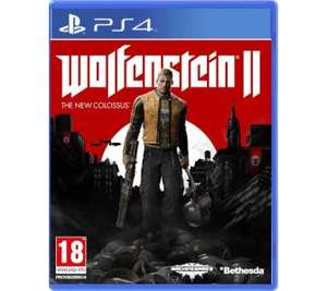 Wolfenstein II The New Colossus PS4 Xbox One RTV Euro AGD