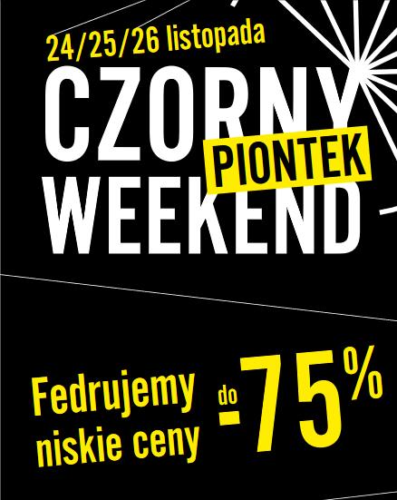 24-26 listopada - Czorny weekend @ Galeria Katowicka