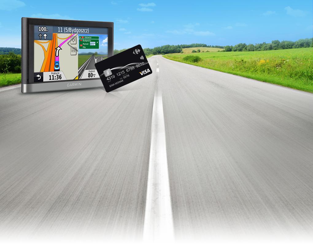 Nawigacja Garmin nüvi 2407 za 299zł (poza promocją - 519zł) dla płacących kartą Carrefour Visa@ Carrefour