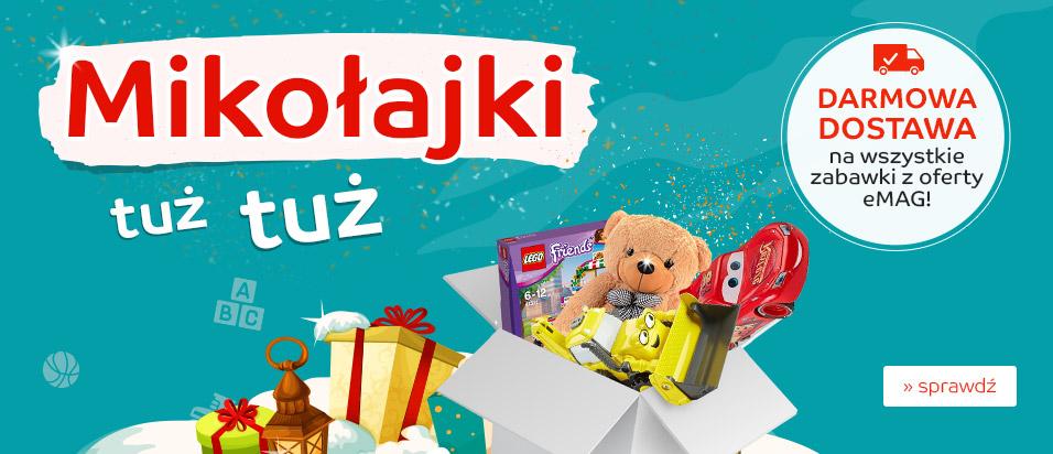 Darmowa dostawa - wszystkie zabawki w emag bcm