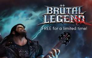 Brütal Legend (STEAM) za darmo