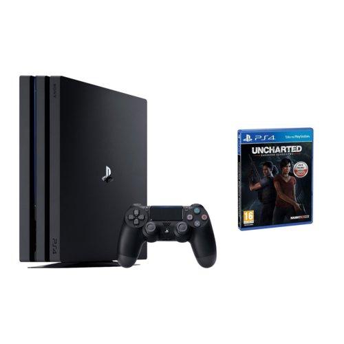 Playstation 4 Pro z Uncharted Zaginione Dziedzictwo