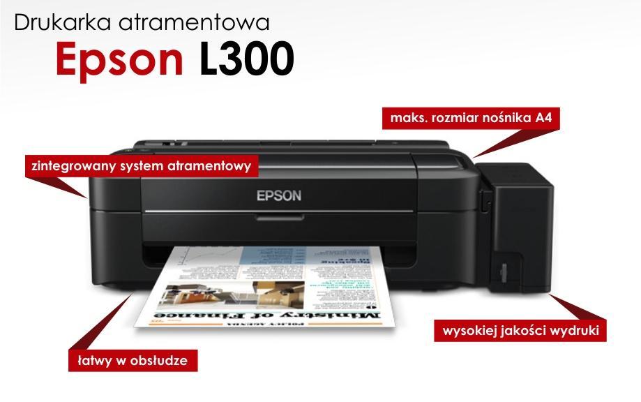 Drukarka atramentowa Epson L300 z darmową dostawą @Komputronik