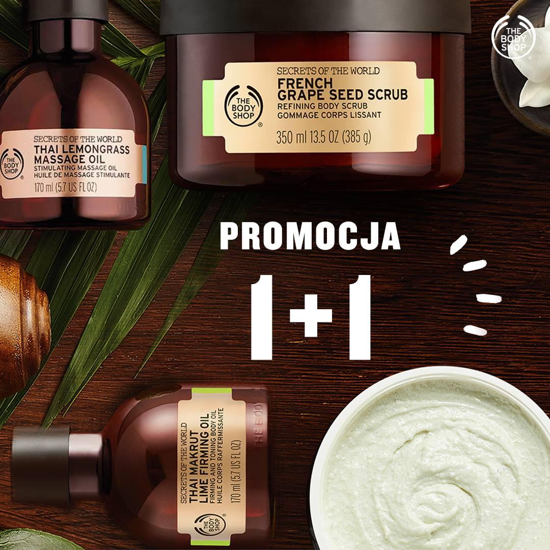 1+1 gratis na linię SPA @ The Body Shop
