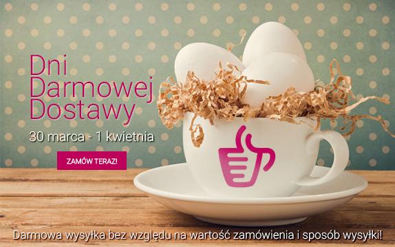dni darmowej dostawy na kawy, herbaty oraz akcesoria (bez minimalnej kwoty zamówienia!) @Coffeedesk.pl