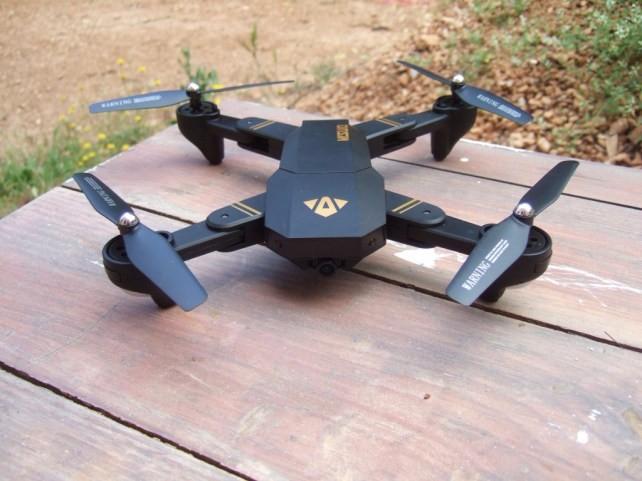 Dron VISUO XS809HW czyli z czujnikiem wysokości 0,3Mpix [33,99USD]