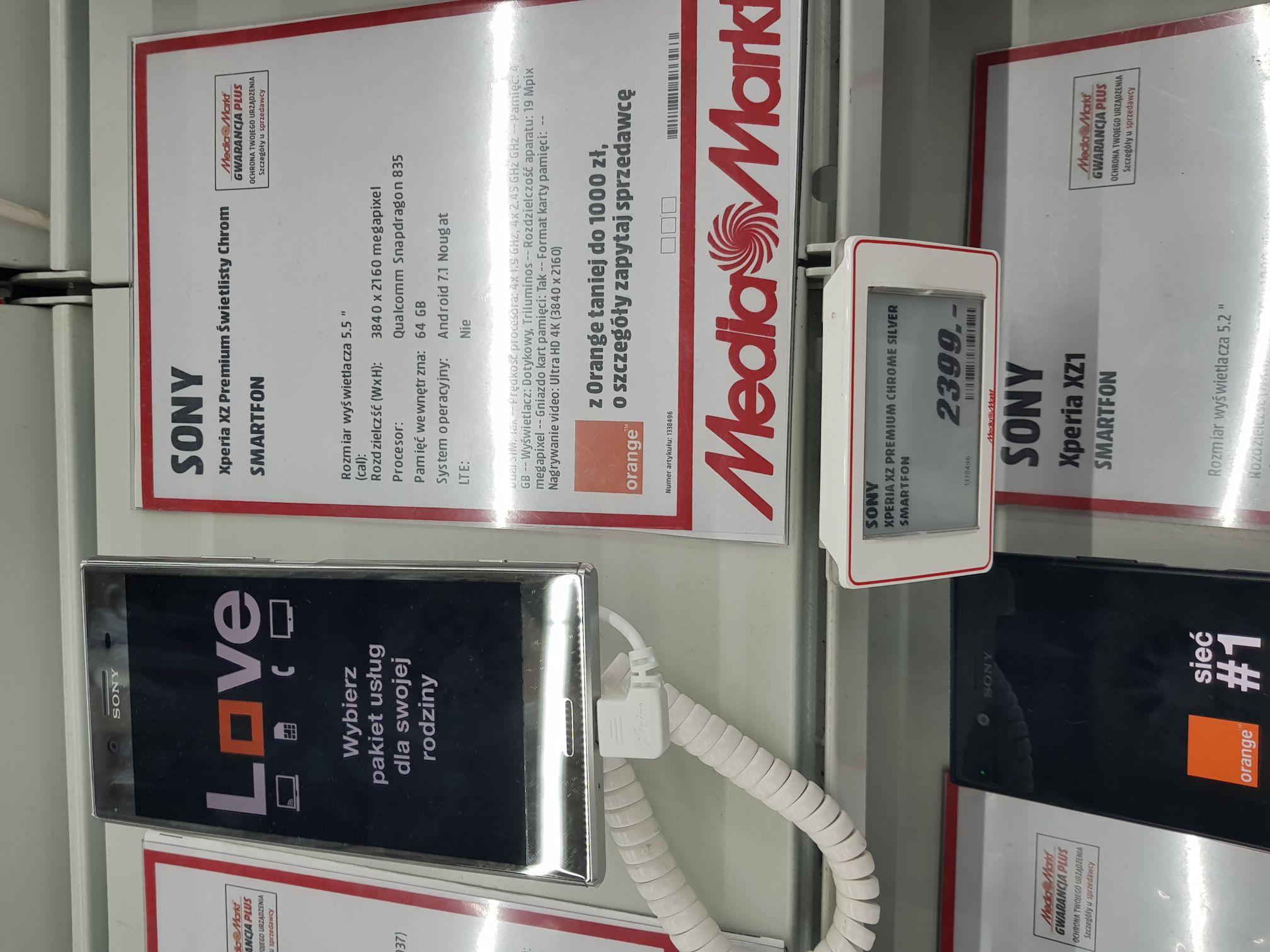 Sony Xperia Czy Premium Świetlisty Chrom (Warszaw, Górczewska)