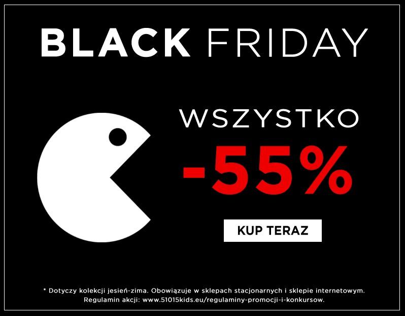 55% rabatu stacjonarnie i online (np.t-shirt za 7,65zł) @ 5.10.15
