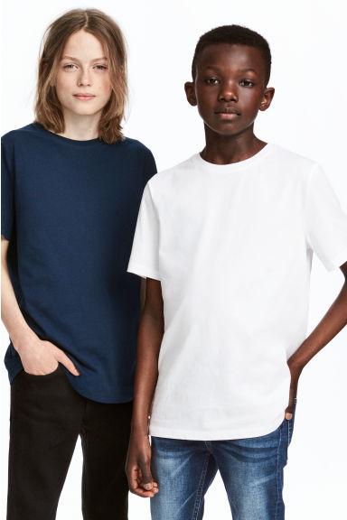 Chłopięce t-shirty (2szt.) za 19,95zł (rozm.134-170), dżinsy za 19,95zł (r.158-170) @ H&M