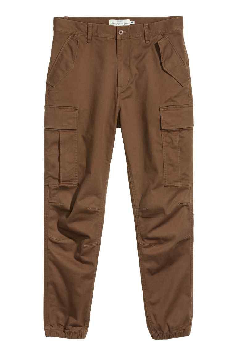 (Aktualizacja) Męskie spodnie cargo za 51,96zł (-50%) @ H&M