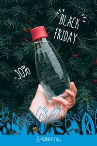 "BLACK FRIDAY -  BUTELKI RETAP, RAGS""Y oraz MB BOTTLE"