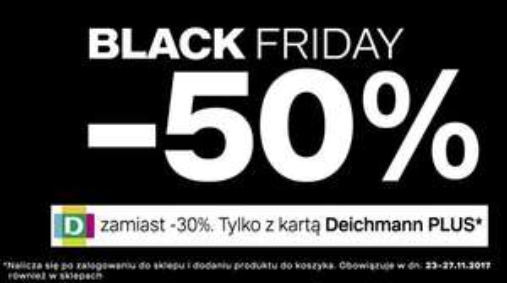 BlackFriday w Deichmann