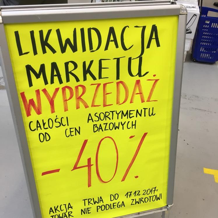 Likwidacja Praktiker Olsztyn. -40% na wszystko