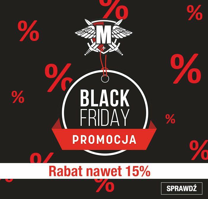 Black Friday 2017 5% do 15 %