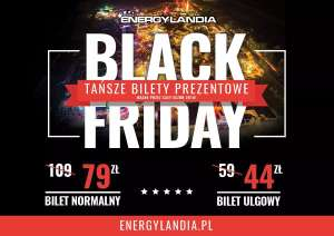 Black Friday w Energylandii