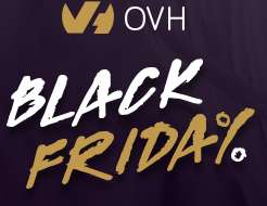 Domeny, serwery, VPS w OVH na Black Friday