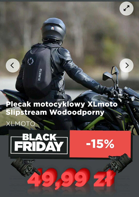 Kolejny raz plecak motocyklowy za niską cenę :D