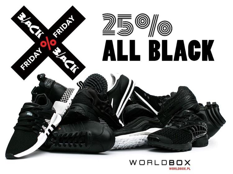 WorldBox -25% na czarne produkty