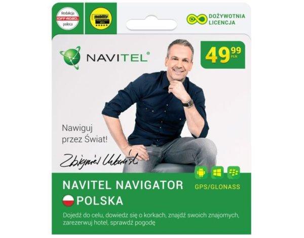 Dożywotnia licencja Navitel Navigator Polska @ Komputronik