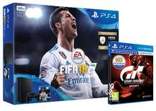 PS4 Slim 500GB Fifa 18 + Gran Turismo Sport + Select 1 of the PlayLink Titles for FREE!