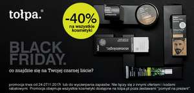 -40% na wszystkie kosmetyki @ Tołpa