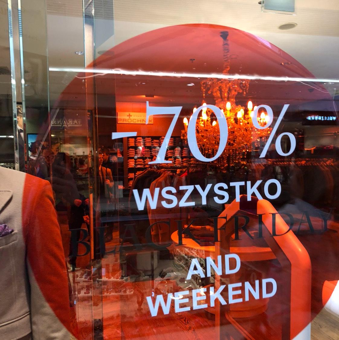 Próchnik -70% w sklepie stacjonarnym