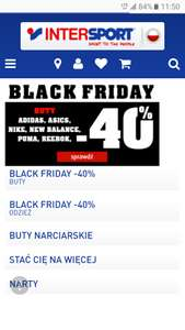 BlackFriday w INTERSPORT.pl 40%