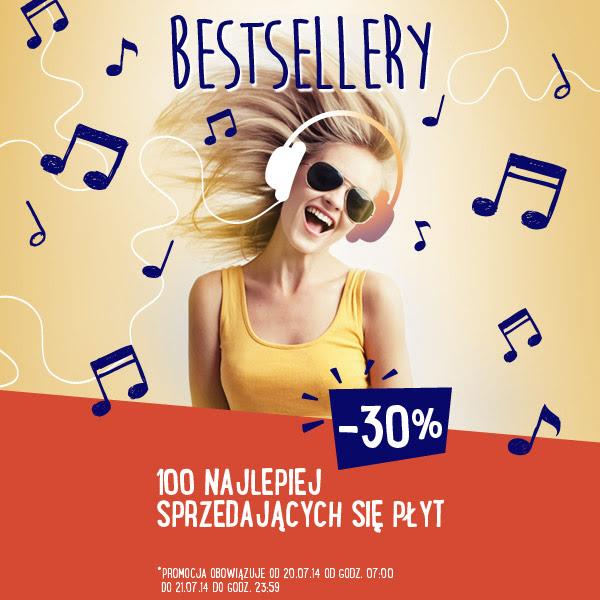 Muzyczne bestsellery płytowe -30% @ Merlin