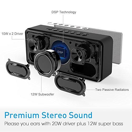 Król głośników bluetooth DOSS SoundBox XL -20%