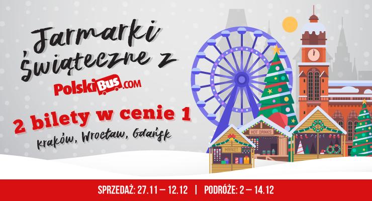2 bilety w cenie 1 - Gdańsk, Kraków, Wrocław