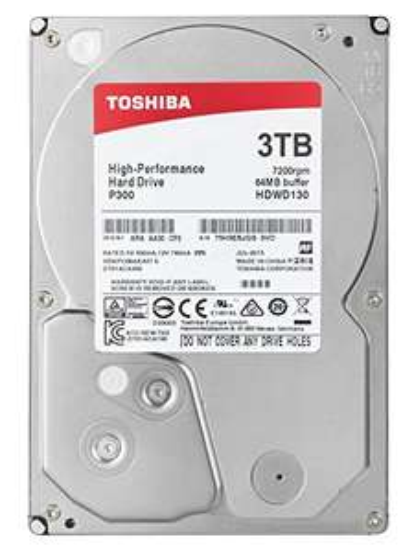 "Toshiba P300 3TB 7200RPM 3.5"" SATA HDWD130UZSVA (Bulk) za 75,97 GBP"